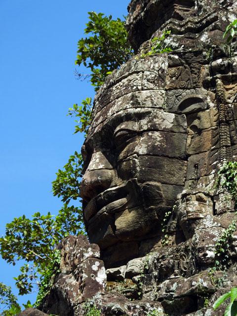 Le bouddha de Banteay Kdei   ® Doré Elisa