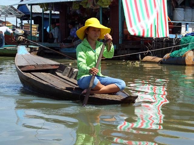 """Village flottant """"Kompong Luong"""""""