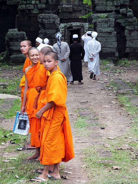 La multiculture au Wat Nokor © Doré Elisa