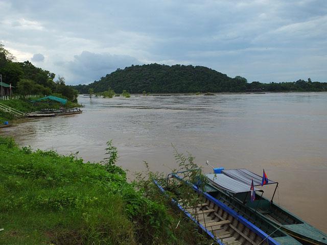 Le mékong à la frontière du Laos © Doré Elisa