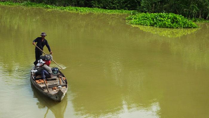 Un pêcheur tranquille © Doré.Elisa
