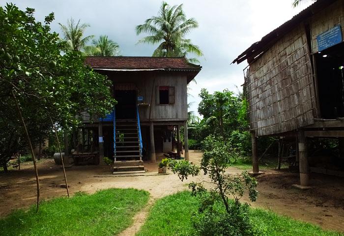 Village de Koh Trong