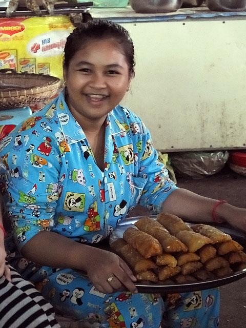 Marché Couvert de Sihanoukville © Doré Elisa