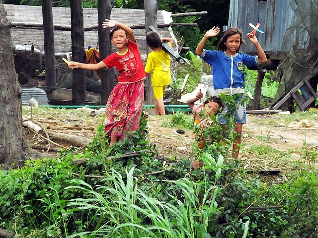 Croisière jusqu'à Battambang