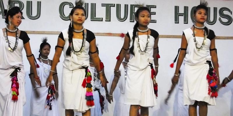 Danse inaugurale des femmes - Chitwan - Népal © Doré. Elisa