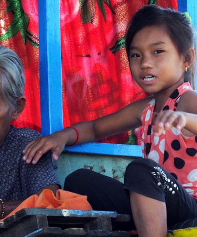 Les enfants de Kompong Luong