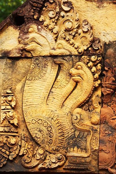Naga tricéphale