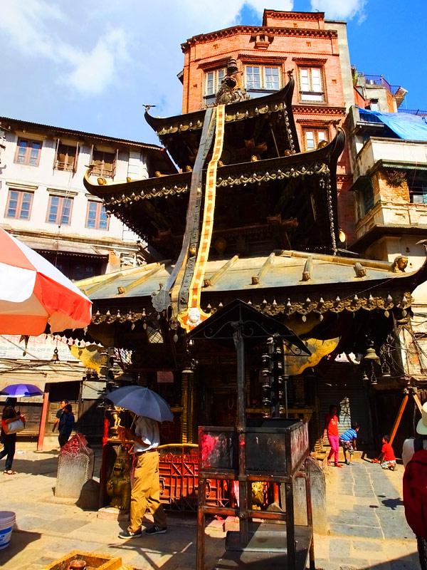 Annapurna Ajima Temple - Dubar Square - Népal 2015 © Doré. Elisa