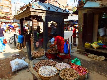 Place Asan Tole - Dubar Square - Népal 2015 © Doré. Elisa