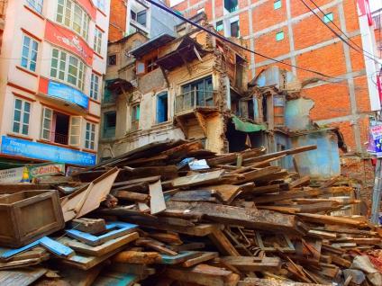 Dubar Square - Népal 2015 © Doré. Elisa