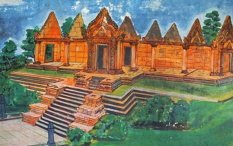 Temple de Preah Vihear - Along Veng