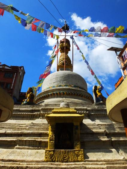 Stupa prés de Nateshwar Temple - Dubar Square - Népal 2015 © Doré. Elisa