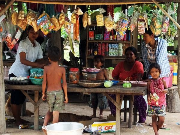 Campagne cambodgienne - Phnom Penh