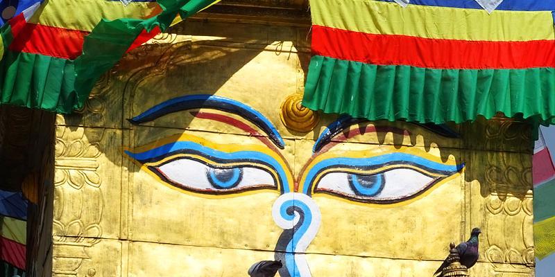Kathesimbu stupa - Dubar Square - Népal 2015 © Doré. Elisa