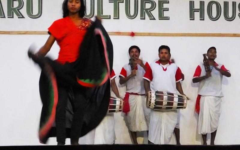 Maruni dance - Chitwan - Népal © Doré. Elisa
