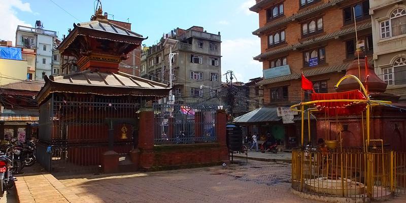 Temple de Sikha Narayan - Dubar Square - Népal 2015 © Doré. Elisa