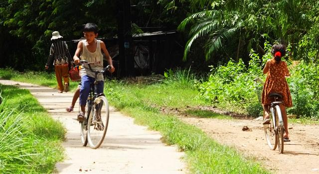Ile de Koh Trong - Kratie
