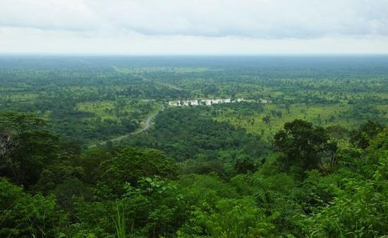 Les hauteurs de Preah Vihear