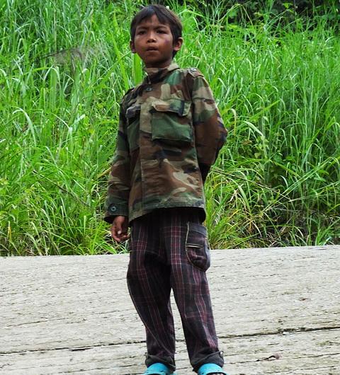 Enfant- Preah Vihear
