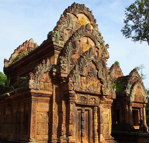 Bibliothèque - Banteay Srei