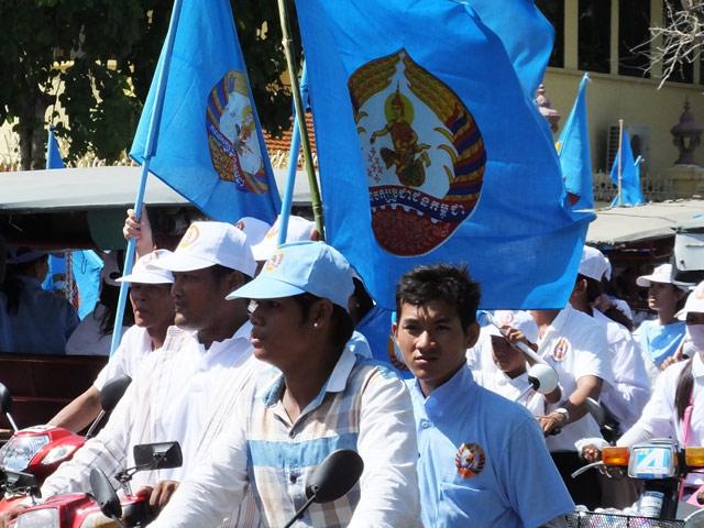 Campagne pour les elections legislatives du 28 juillet 2013 remportees par le ppc hun sen 4