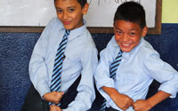 Classe d enfants de 9 a 10 ans kathmandu satpragya school 7 1