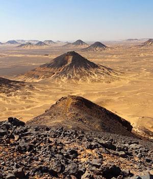 Désert Noir - Egypte
