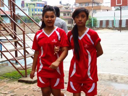 Elèves - Katmandu Satpragya School - Népal 2015 © Doré. Elisa