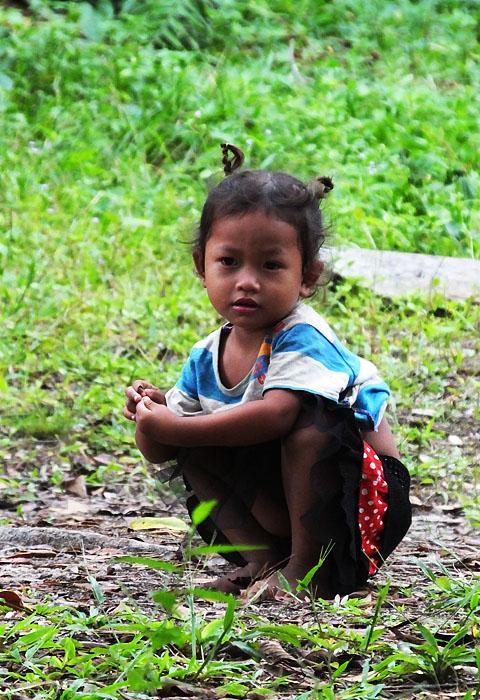 Enfant - Phnom  Kulen