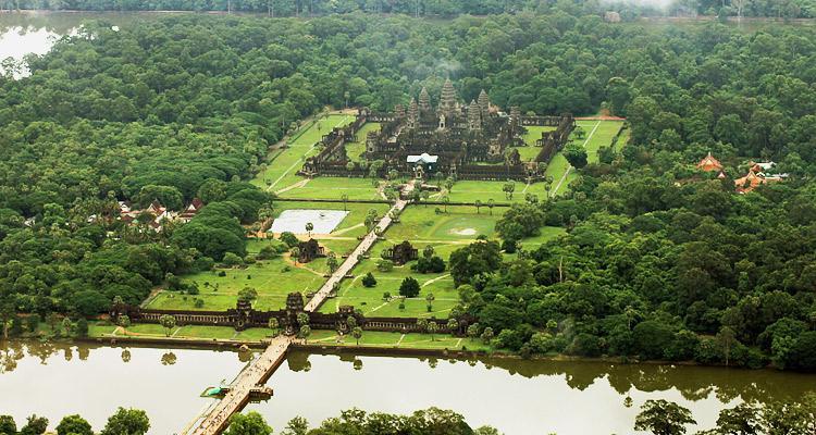 Angkor Wat de haut