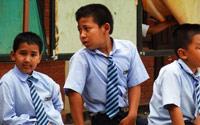 Jour 3 13 07 15 accueil a l ecole kathmandu satpragya school 2