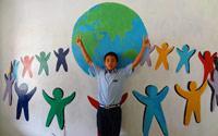 Jour 6 16 07 15 les fresques murales des volontaires
