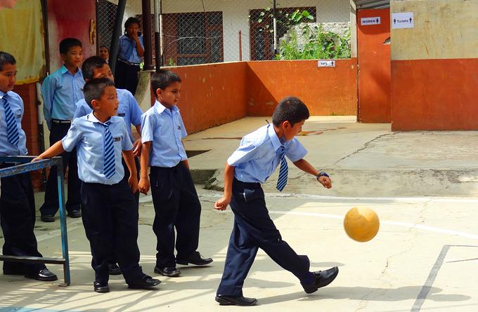 Le football au Népal
