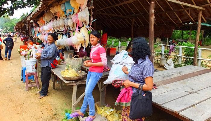 Marché local - Phnom Kulen