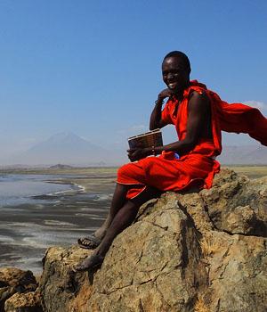 Masaï - Lac Natron