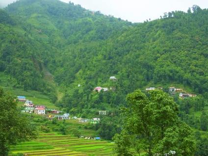 Paysage de l'himalaya - Népal 2015 © Doré. Elisa