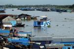 Kompong Chnang - Villages flottants
