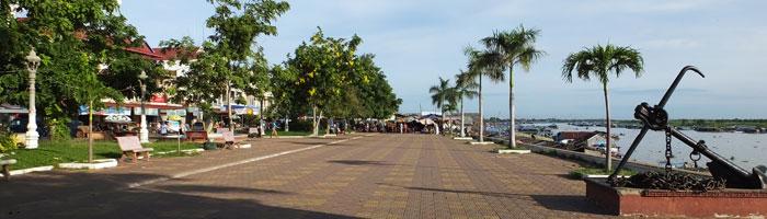 Le port de Kompong Chnang