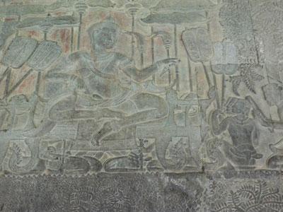 Suryavarman II et ses 16 parasols - Angkor Vat