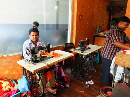 Shopping Sari - Népal 2015 © Doré. Elisa