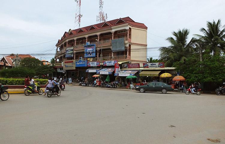 Centre ville de Siem Reap
