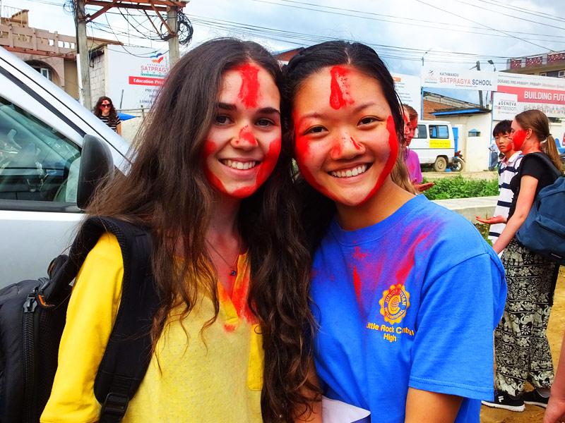 Volontaires - Népal 2015 © Doré Elisa